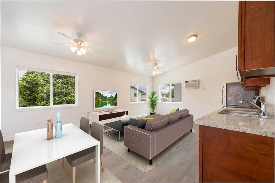 101-127 Maluniu Ave, Kailua, HI 96734-DuplexLiving Staged copy